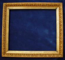 Antique gilded frame, 19th century.